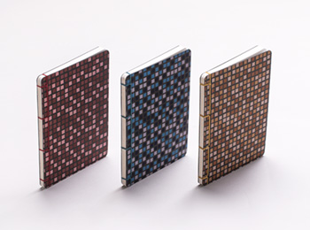 Yotsume Washi Notebook – Tile Print